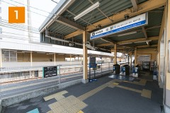 阪神電車 西大阪線福駅です。