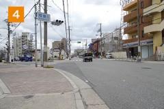 姫島5の交差点をお進みください。